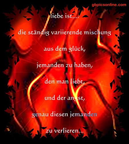 Liebe ist... die ständig...