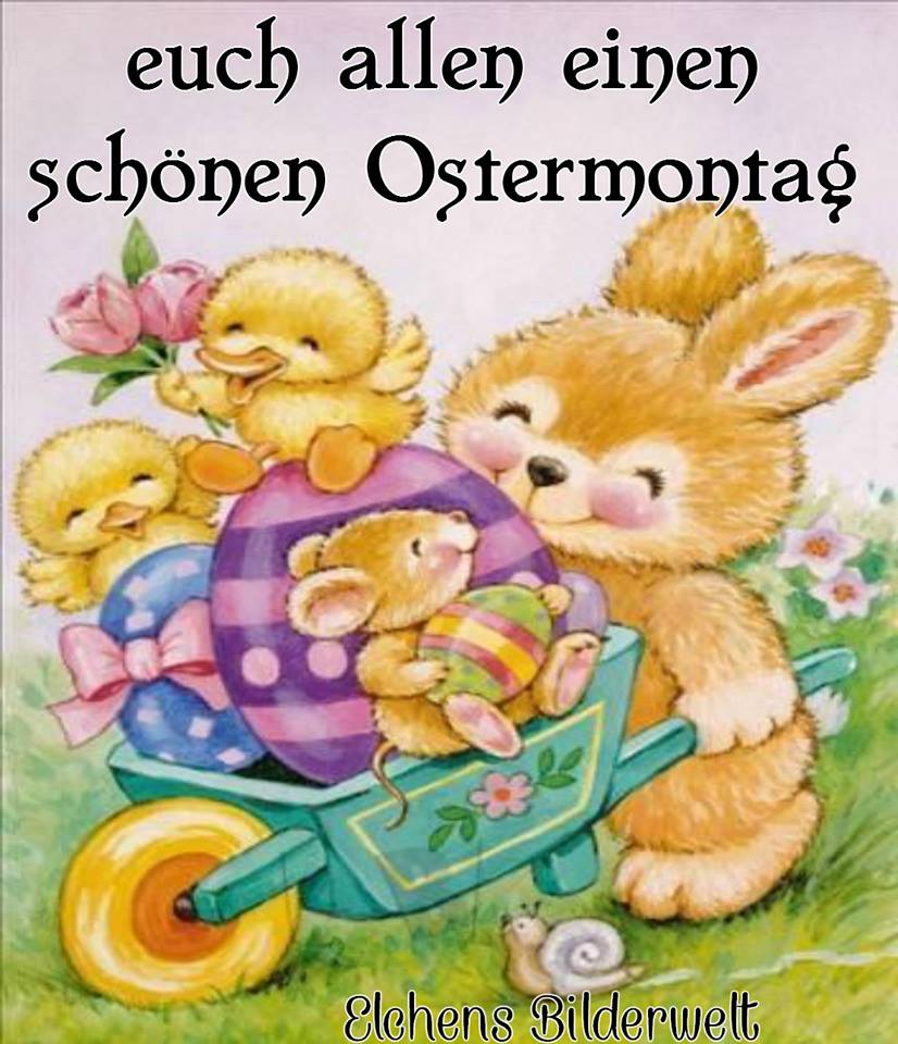 Euch allen einen schönen Ostermontag!