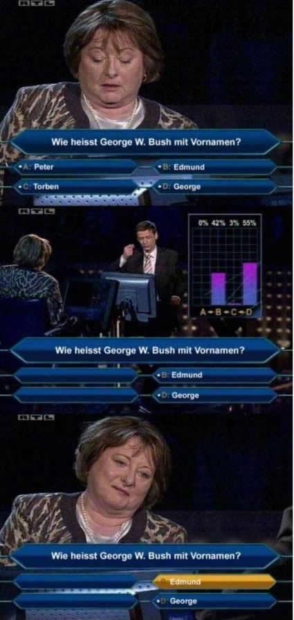 """""""Wer wird..."""