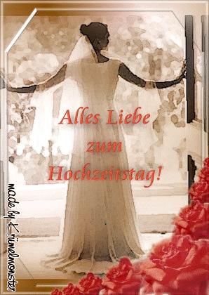 Alles Liebe zum Hochzeitstag!