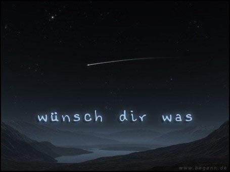 Wünsch dir was.