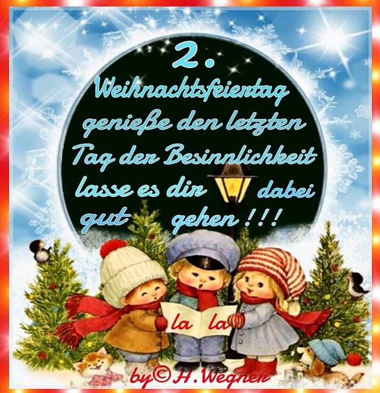 2. Weihnachtsfeiertag...