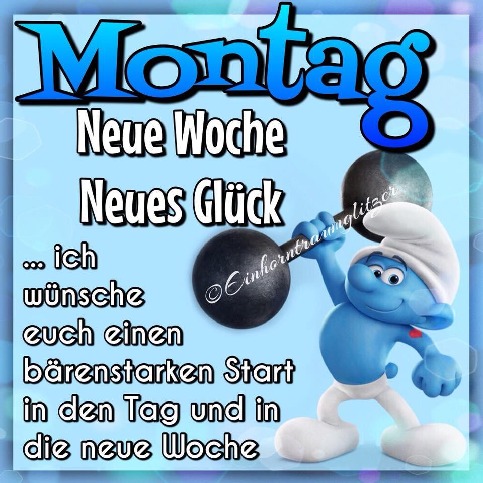 Montag. Neue Woche, neues Glück. ...ich wünsche euch einen bärenstarken Start in den Tag und in die neue Woche