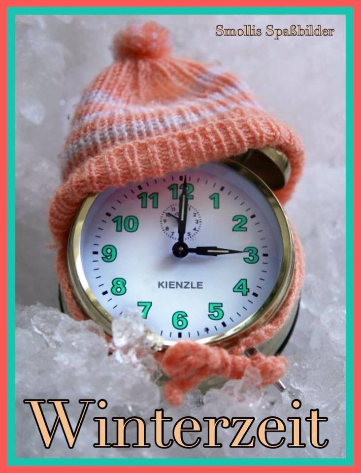 Winterzeit.