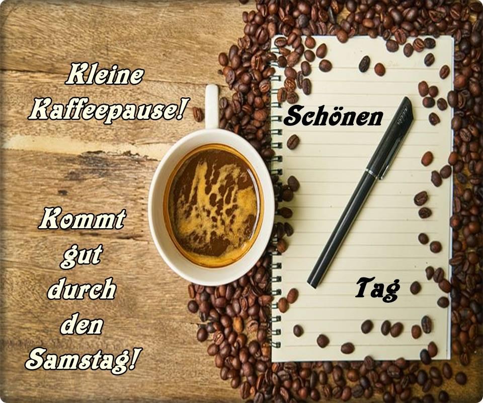 Kleine Kaffeepause! Kommt gut...