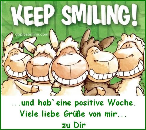 Keep smiling! ...und hab eine...