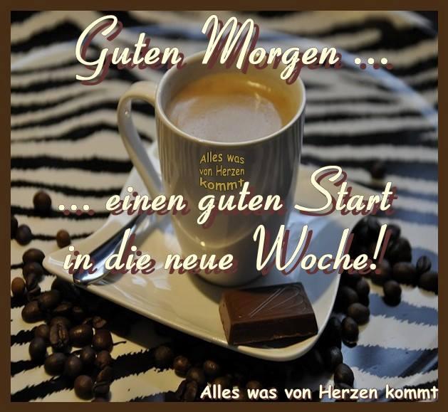Guten Morgen... einen guten Start in die neue Woche!