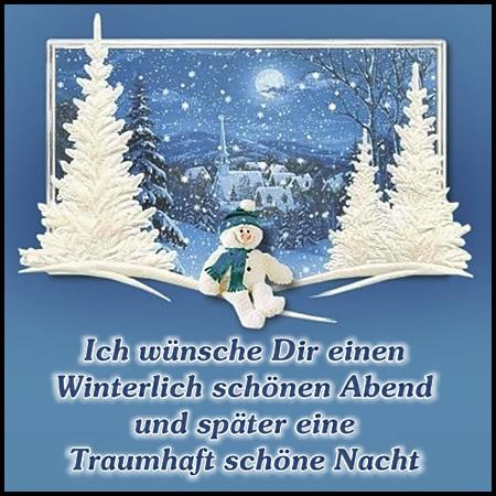 Ich wünsch Dir einen winterlich...
