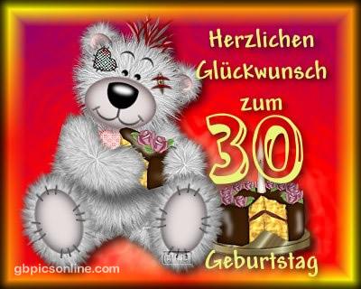 Herzlichen Glückwunsch zum 30...