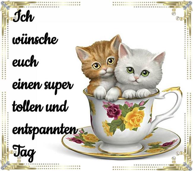Ich wünsche euch einen super tollen und entspannten Tag.