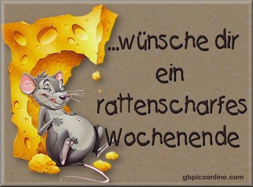 ...wünsche dir ein rattenscharfes...