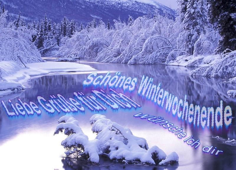 Schönes Winterwochenende...