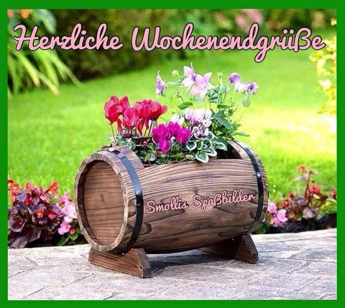 Herzliche Wochenendgrüße