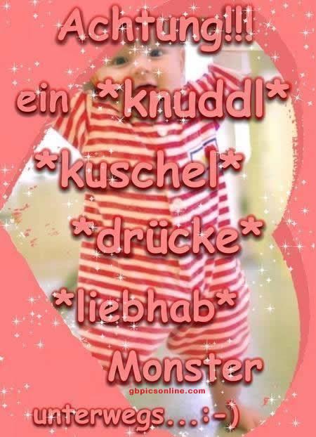 Achtung!!! Ein *knuddl* *kuschel*...