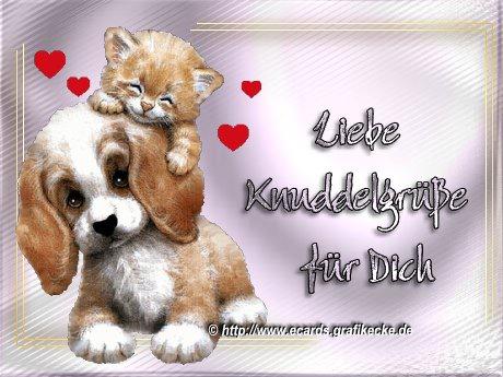 Liebe Knuddelgrüße...