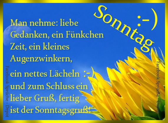 Sonntag :-) Man nehme: Liebe Gedanken...