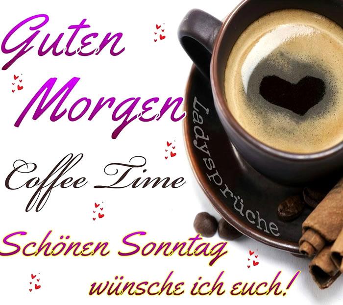 Guten Morgen. Coffee Time...