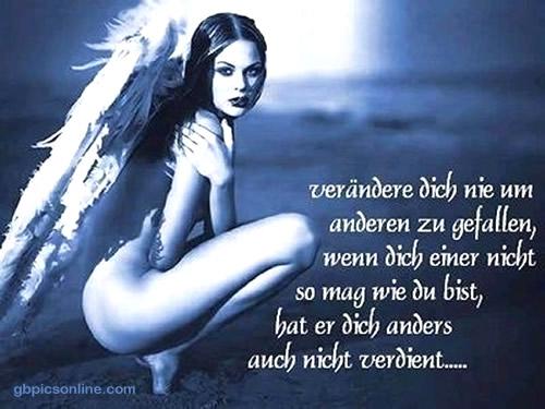 Verändere dich nie um anderen zu...