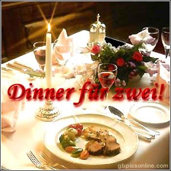 Dinner für zwei!