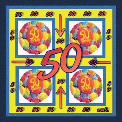 50zigster Geburtstag