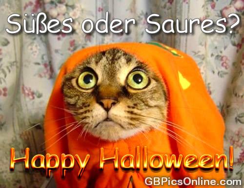 Süßes oder saures? Happy Halloween!