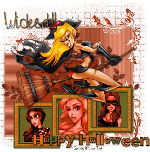 Wicked!! Happy Halloween.