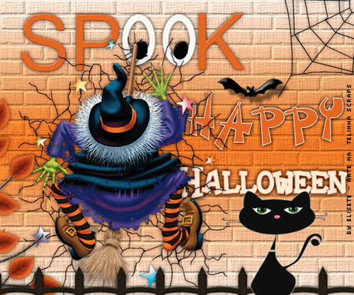 Spook. Happy Halloween.