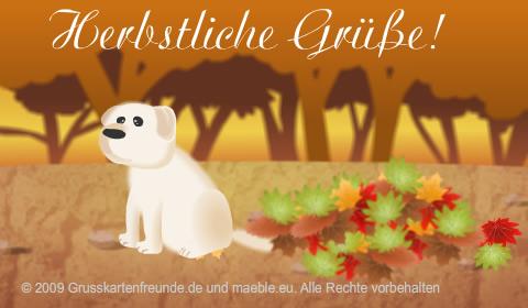 Herbstliche Grüße!