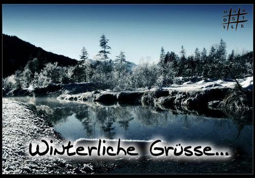 Winterliche Grüße...