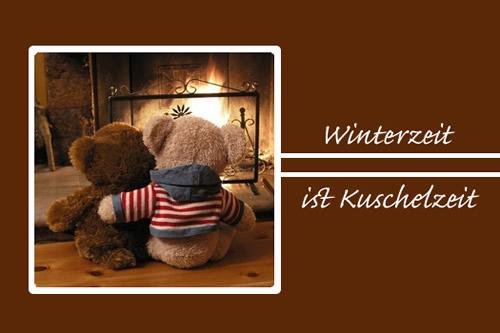 Winterzeit ist Kuschelzeit