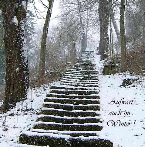 Aufwärts auch im Winter!