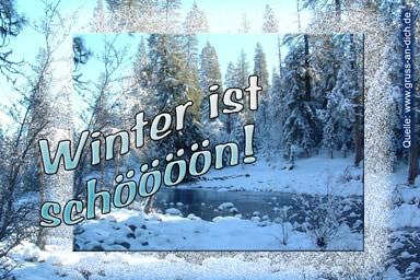 Winter ist schööön!