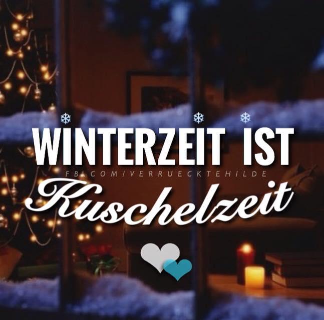 Winterzeit ist Kuschelzeit.