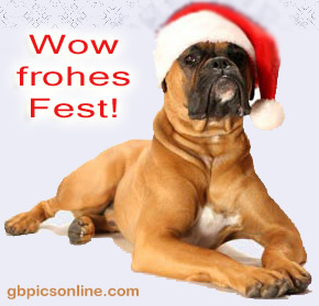 Wow, frohes Fest!