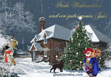 Frohe Weihnachten und ein...