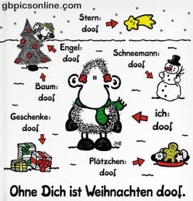 Geschenke: doof. Baum: doof...