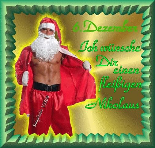 6. Dezember. Ich wünsche Dir einen...