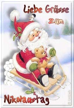 Liebe Grüße zum Nikolaustag.