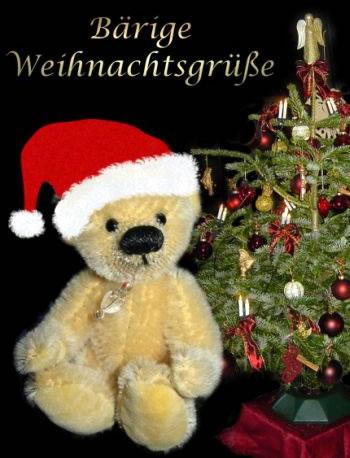 Bärige Weihnachtsgrüße