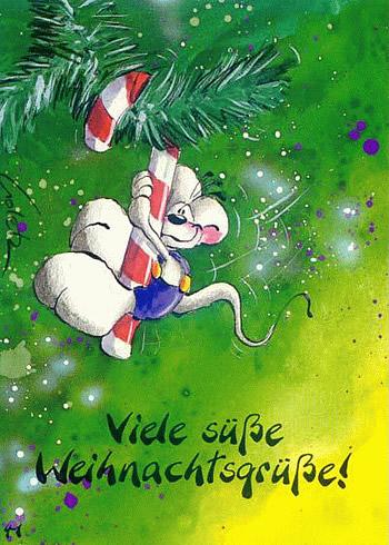 Viele süße Weihnachtsgrüße!