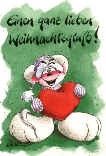 Ganz Liebe Weihnachtsgrüße.Einen Ganz Lieben Weihnachtsgruß Weihnachtliche Grüße Bild 17611