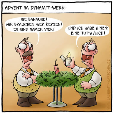 Advent im Dynamit-Werk: Sie...