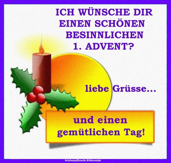 1. Advent bild 8