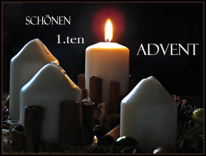 Schönen 1.ten Advent