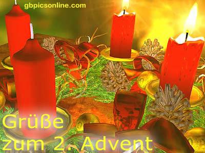 Grüße zum 2. Advent