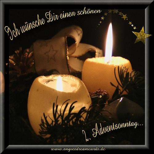 Ich wünsche Dir einen schönen 2. Adventsonntag...