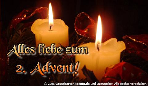 Alles Liebe zum 2. Advent!