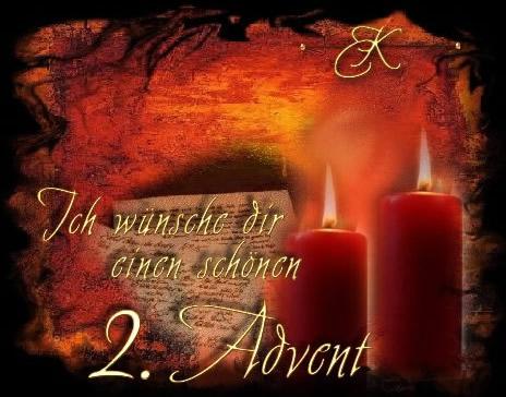 Ich wünsche dir einen schönen 2. Advent