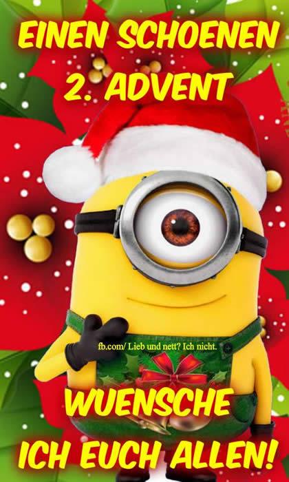 Einen Schönen 2. Advent wünsche ich euch allen!