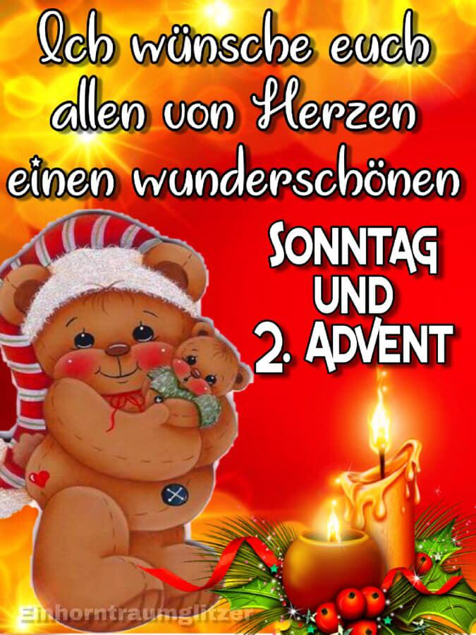 ᐅ 2 Advent Bilder 2 Advent Gb Pics Gbpicsonline